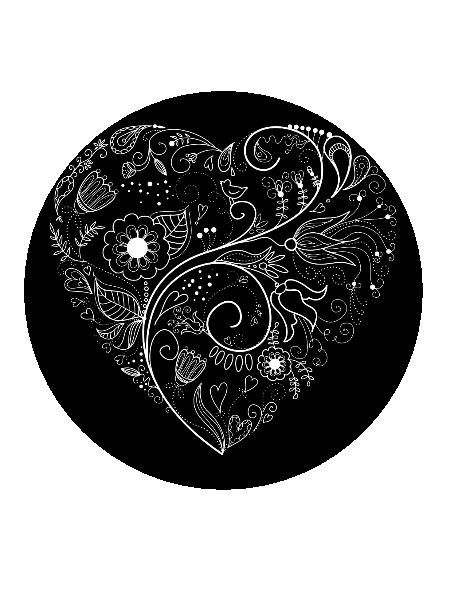 AH-Valentine Background Shape-Digital Clipart