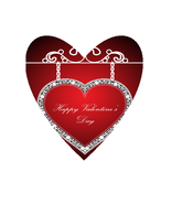 AJ-Valentine Background Shape-Digital Clipart - $3.00