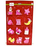 Jo-ann's Holiday Inspirations Baby Mini Ornament Set,handmade Clay,12x (... - $12.99