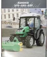 2009 Deutz-Fahr Agrokid 210, 220, 230 Tractors Brochure - $8.00