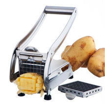 Stainless Steel French Fry Cutter Potato Vegetable Slicer Chopper Dicer ... - $25.07