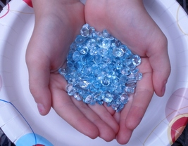 Over 100 Carats of Loose Sky Blue Topaz Gemstone Mix - $29.99