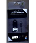 Car Charger with Micro USB for Smartphones Cell Phones NEW - $6.50