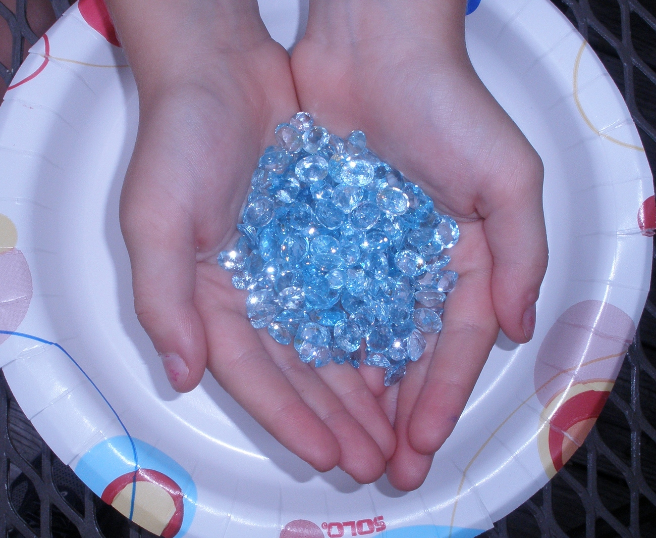 Over 100 Carats of Loose Sky Blue Topaz Gemstone Mix