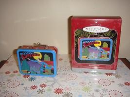 Hallmark 1998 Superman Tin Lunchbox Ornament - $8.99