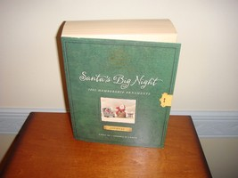 Hallmark 2002 Santa's Big Night 4 Piece Set Collector's Club Ornament - $17.99