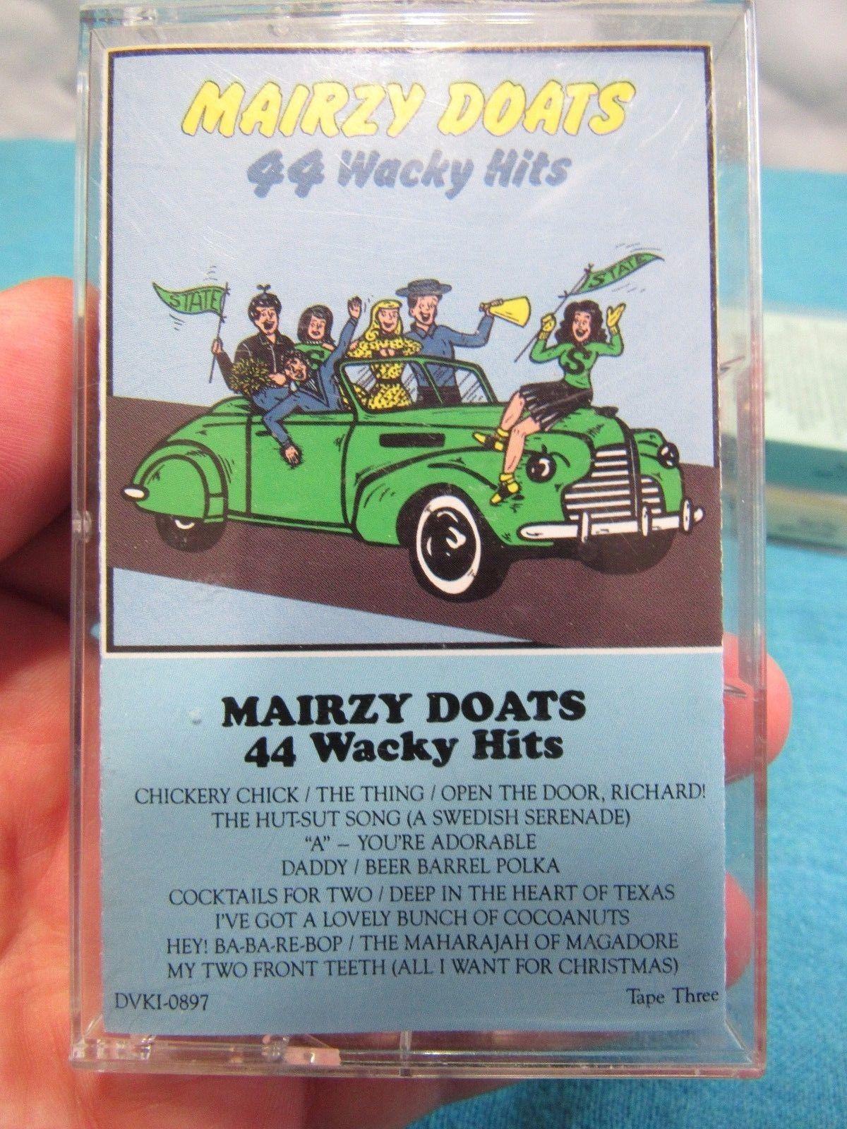 Mairzy Doats - 3 Tape Set  44 Wacky Hits BMG Music RCA