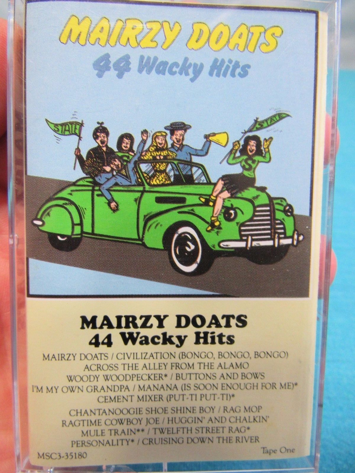 Mairzy Doats - 3 Tape Set  44 Wacky Hits BMG Music RCA