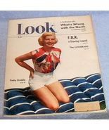 Look Magazine August 1949 Salvador Dali Grable Vaughn Monroe Vintage - $6.00