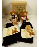 Set Wee Whittles Robert Raikes Hansel & Gretel BEARS Mint box Signed COA - $153.45