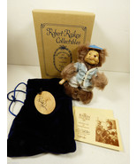 Wee Whittles Robert Raikes Original Toby Baseball BEAR Mint box Signed C... - $84.15