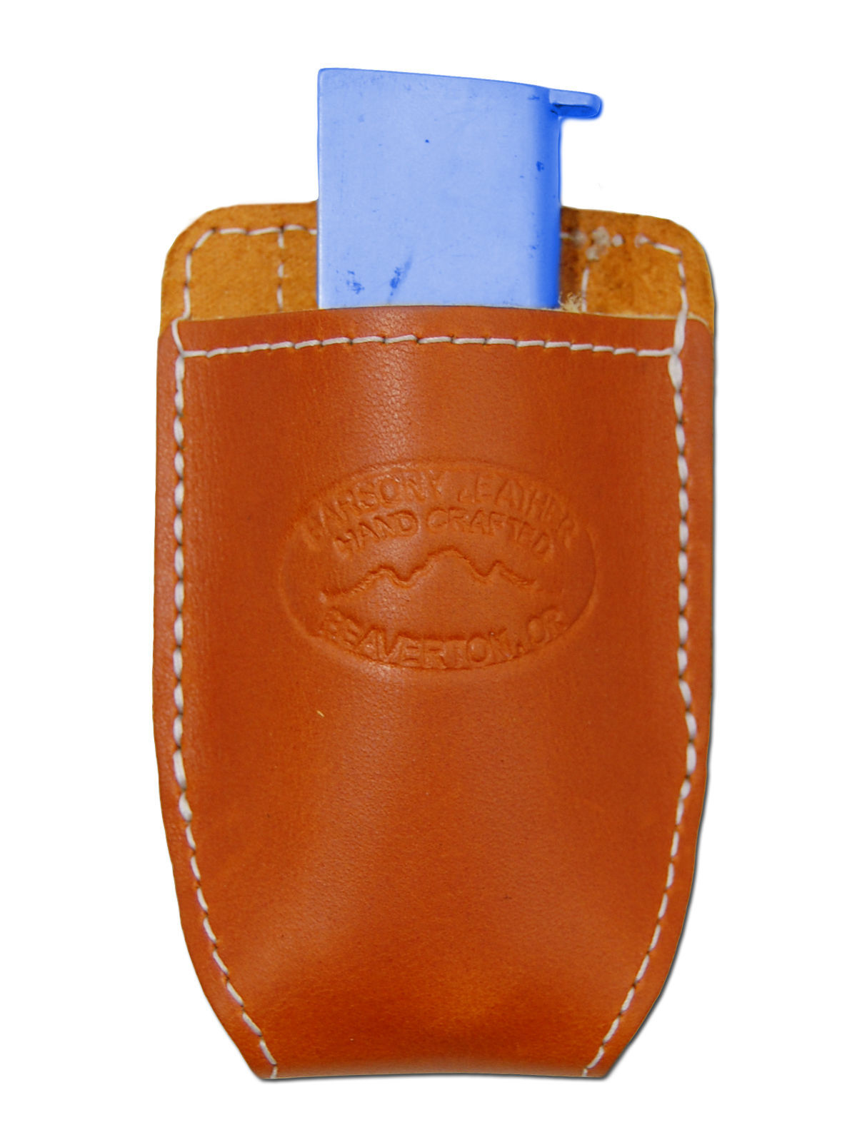 NEW Barsony Tan Leather Magazine Pouch for Ruger, Kel-Tec Mini/Pocket 22 25 380