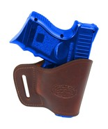 New Barsony Burgundy Leather Yaqui Holster Kel-Tec Sccy Kimber Compact 9... - $26.99