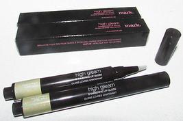 2 pcs Avon Mark HALO EFFECT High Gleam Shimmering Lip Gloss CLEAR FullSz... - $5.83