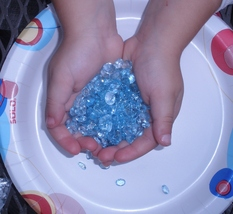 Over 50 Carats of Loose Sky Blue Topaz  Gemstone Mix - $14.99