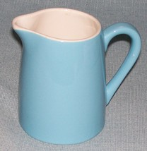 Vtg Royal China- BLUE HEAVEN CREAMER /Cream Pitcher- Turquoise Blue/Whit... - $5.95