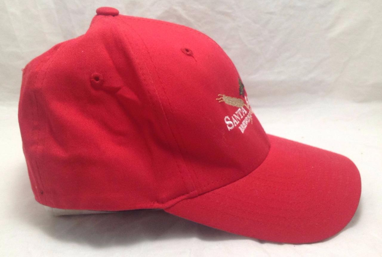 Santa Barbara Brewing Company Red Trucker FlexFit (S-M) Cap Hat