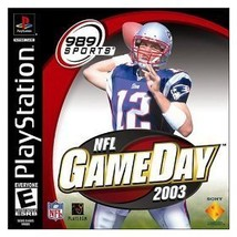 NFL GameDay 2003 [PlayStation] - $4.13