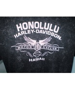 Harley-Davidson Black T-Shirt 2XL Honolulu, Hawaii - $9.00