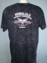 Harley-Davidson Black T-Shirt 2XL Honolulu, Hawaii image 2