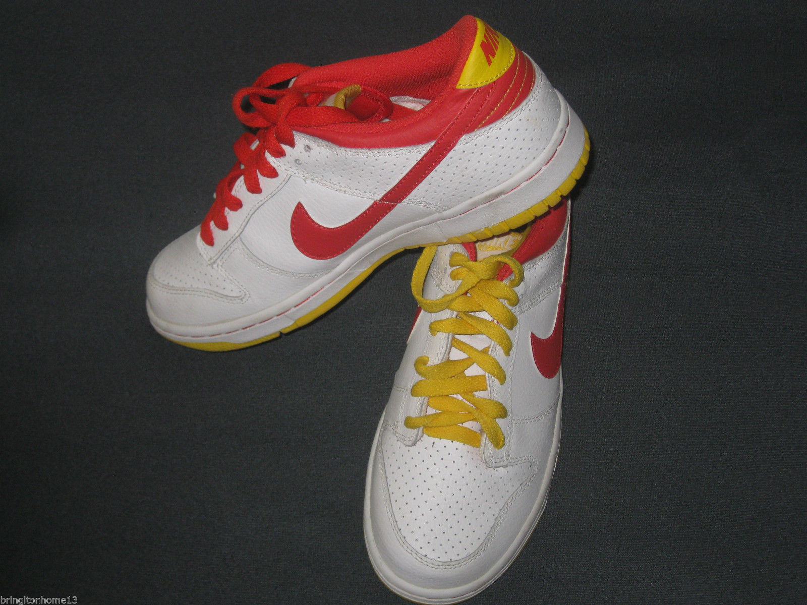 2008 McDonalds Nike NYX Dunk Low White Red and 50 similar items
