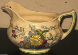 Royal Doulton The Kirkwood D5130 Creamer Multicolor England Floral Vintage - $59.99