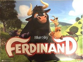 Ferdinand Poster 24'' x 18'' . Animated Cartoon Movie POSTER NEW in tube - $12.73