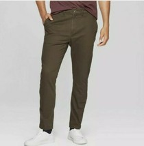 Goodfellow & Co™ ~ Men's Taper Fit Chino Pants ~ Portland Moss Colored ~... - $29.70