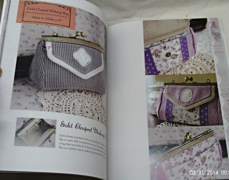 Sewing Pretty Little Things - How to Make Small Bags & Clutches From Remnants