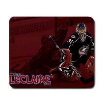 Pascal Leclaire Columbus Blue Jackets NHL Ice Hockey Non Slip Washable M... - $6.99