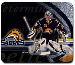Ryan Miller Buffalo Sabres NHL Ice Hockey Non Slip Washable Mouse Pad Ma... - $6.99