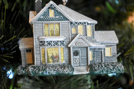 Hallmark  Thomas Kinkade  Victorian House  Painter Of Light  Seasons Orn... - $11.87
