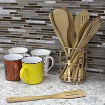 Home Basics CH45737 Lyon Mesh Bottom and Non-Skid Feet Kitchen Utensils Accessor image 4