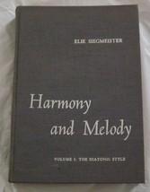 Harmony   melody thumb200