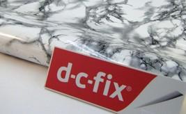 DC Fix Self Adhesive White Dark Gray Marble Effect 26.5'' x 118'' 200-8064 - $35.99