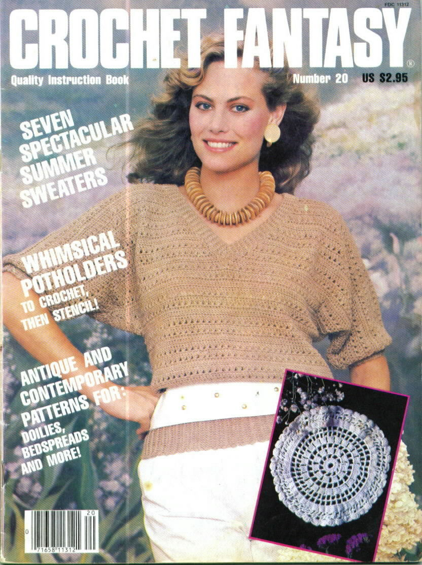 Crochet Fantasy Magazine : Crochet Fantasy Magazine Number 20, May 1985 - Patterns-Contemporary