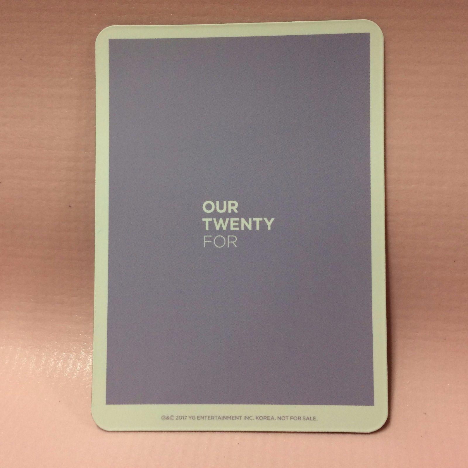 WINNER 위너 Single Album OUR TWENTY FOR Opened CD + Photocard + Polaroid Group Ver