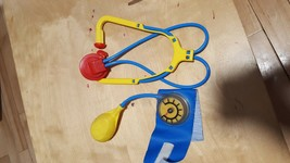 FISHER PRICE doctor nurse medical bag replacement STETHOSCOPE - blood Pr... - $4.94