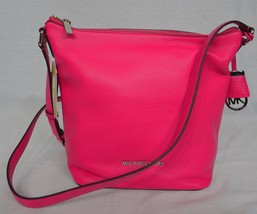 NWT! Michael Kors Bedford Messenger Bag / Shoul... - $167.31
