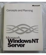 Microsoft Windows NT Server - Concepts & Planning - $8.95