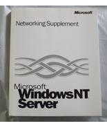 Microsoft Windows NT Server - Networking Supplement - $9.85