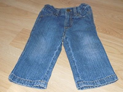 Primary image for Infant Baby Size 12 Months Cherokee Denim Blue Jeans GUC