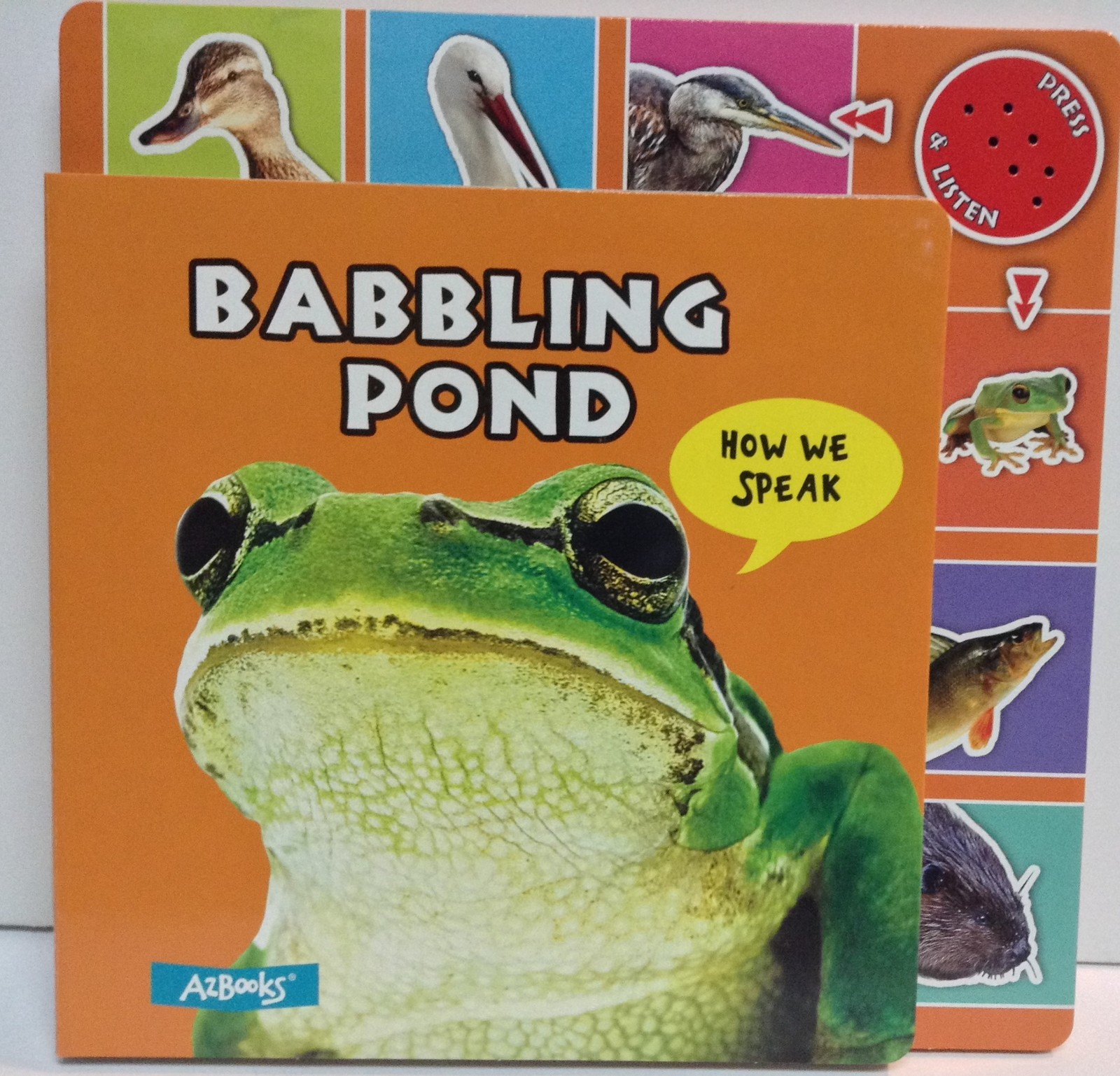 Babbling Pond Children's Board Book How We Speak NEW ISBN 9781618890979