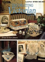 Decorating Victorian Book Two Thread Crochet Leisure Arts Leaflet 2156  - $5.95