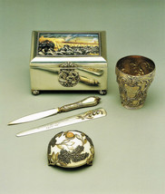 Faberge Art Print/Cross of St. George Cigar Box/Letter Knife/ Bell Push,... - $14.50