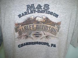 Harley-Davidson Gray Pocket T-Shirt 2XL Chambersburg, Pa - $20.00
