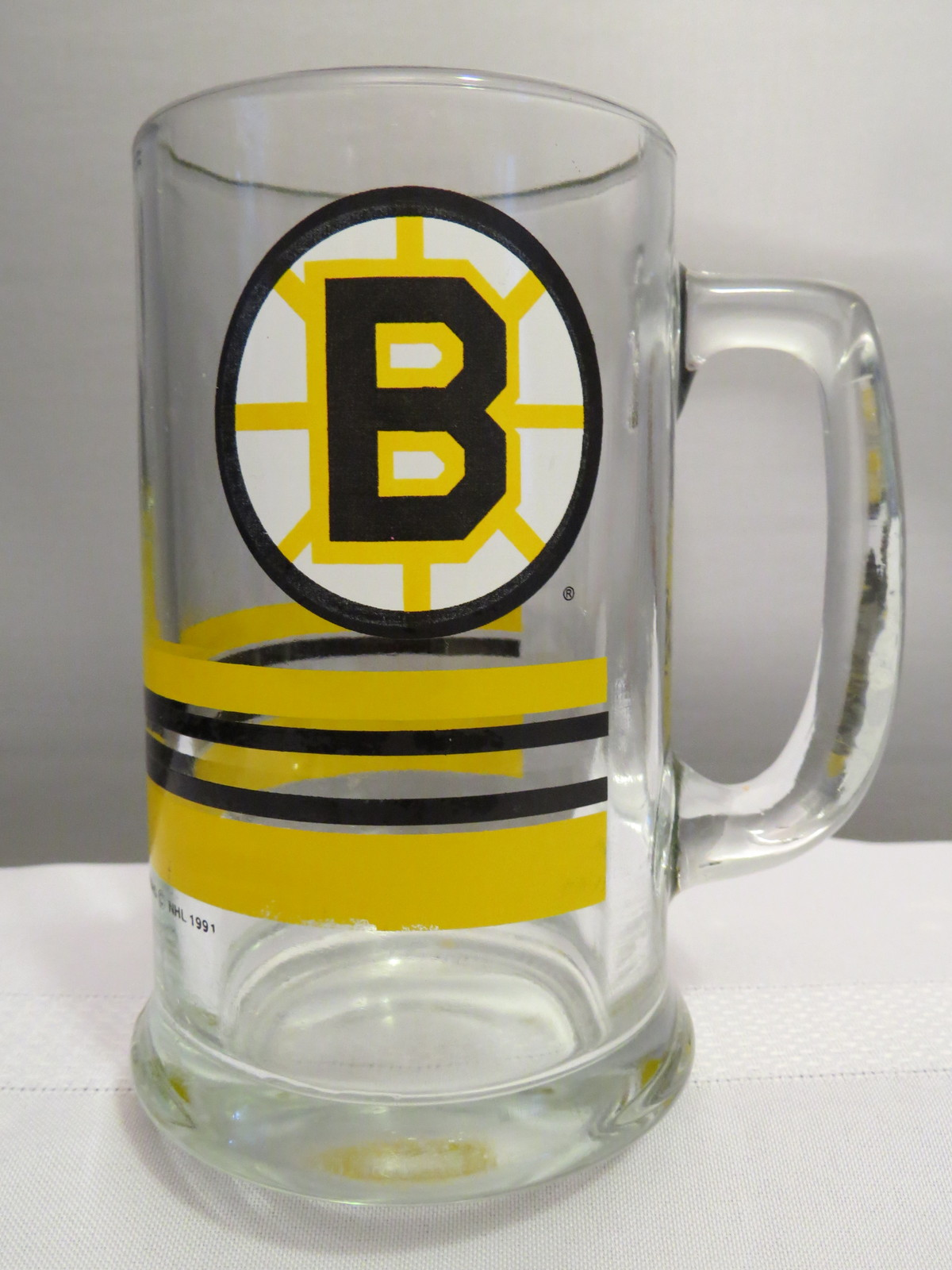 Retro Boston Bruins Beer Mug - Officially Licensed Product  - $49.00