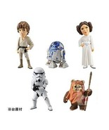 Star Wars WCF World Collectible Figure Complete 5pcs Set R2-D2 Ewok Troo... - $69.28