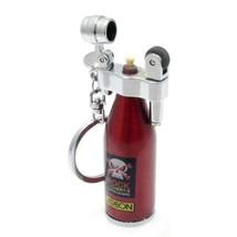 Mini Refillable Lighter Fluid Oil Cigar Cigarette Flame Lighter w/Keychain - ...