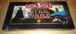 Monopoly Star Wars Classic Trilogy Edition Board Game Parker Brothers Complete - $16.64